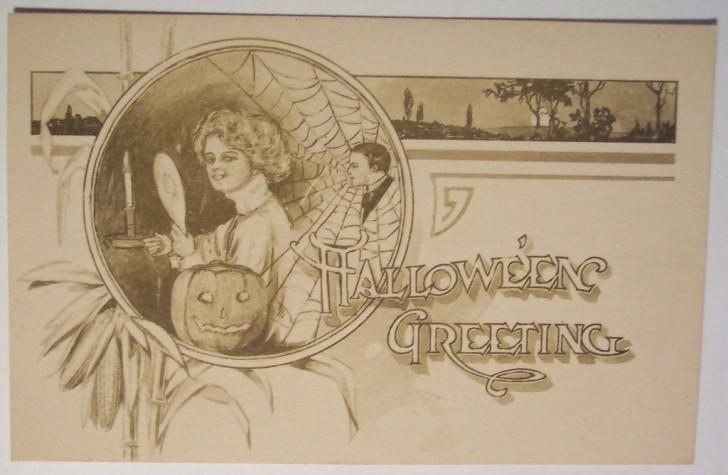 Ilustracion vintage Halloween 043