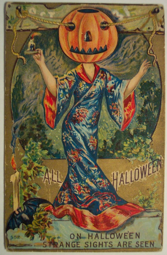 Ilustracion vintage Halloween 044