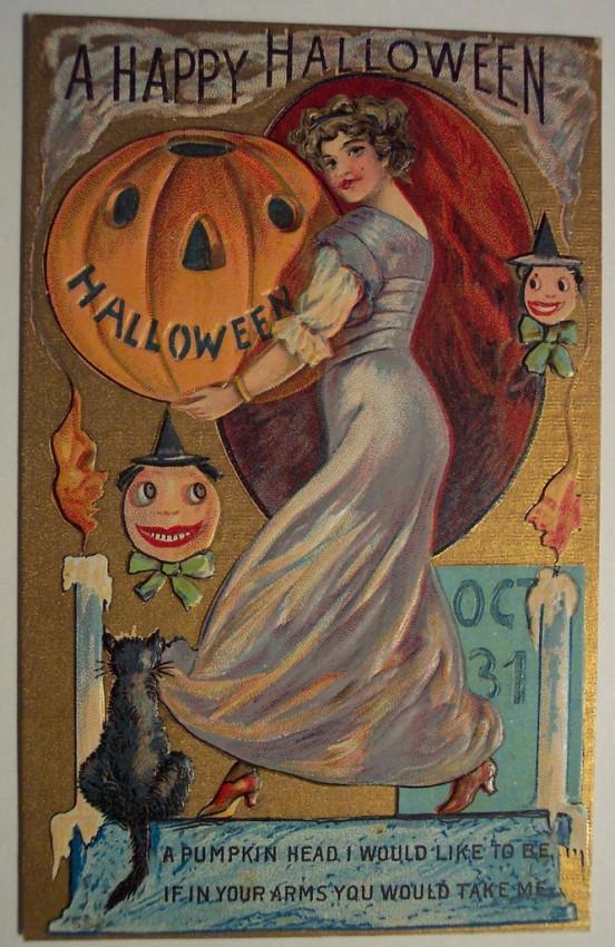 Ilustracion vintage Halloween 045