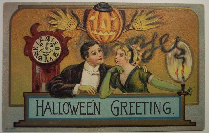 Ilustracion vintage Halloween 046
