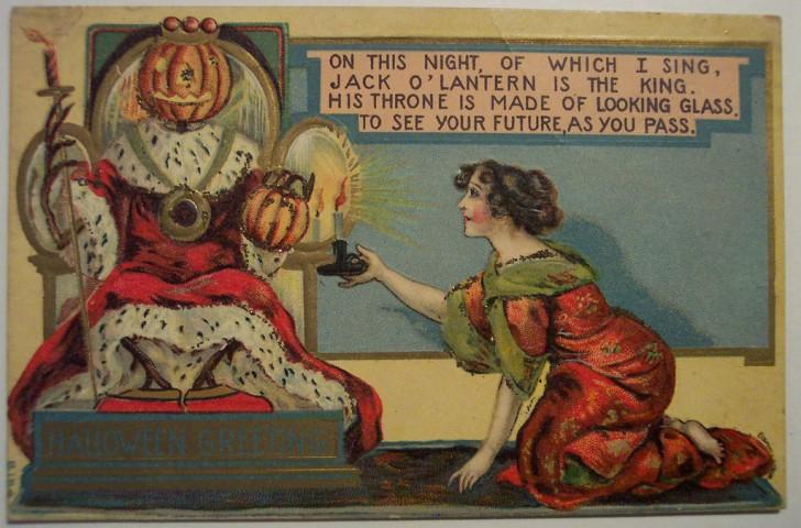 Ilustracion vintage Halloween 047