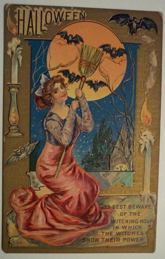 Ilustracion vintage Halloween 049