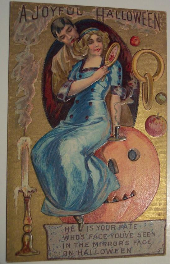 Ilustracion vintage Halloween 050