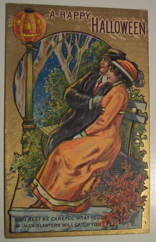 Ilustracion vintage Halloween 051
