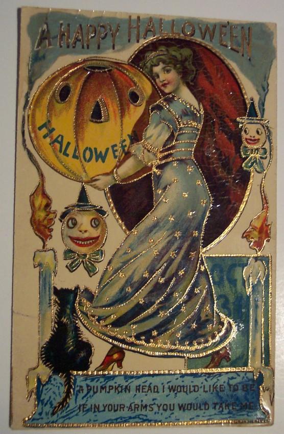 Ilustracion vintage Halloween 052