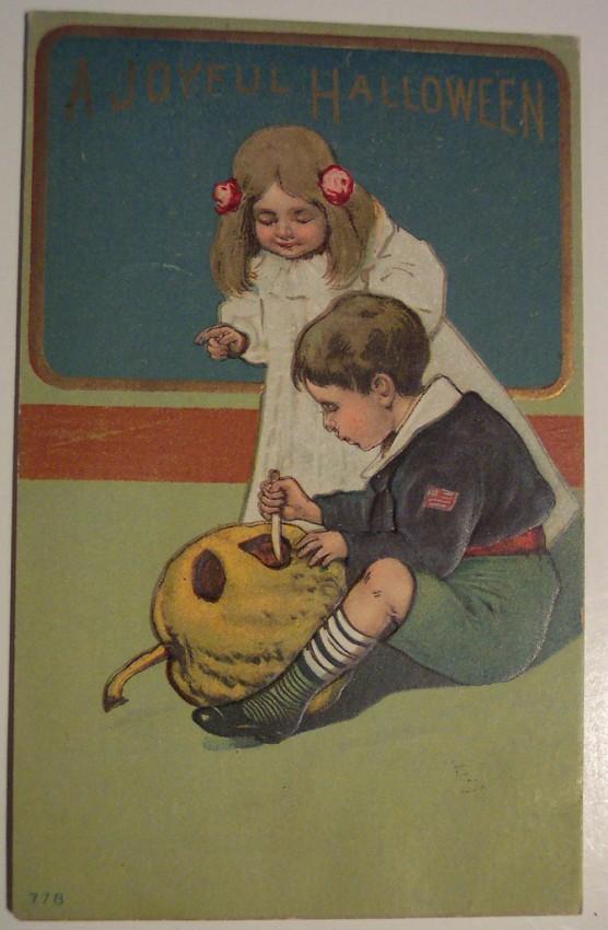Ilustracion vintage Halloween 053