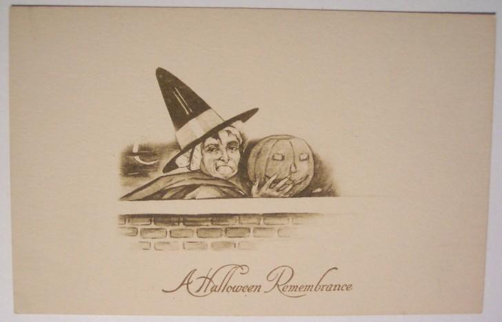 Ilustracion vintage Halloween 054