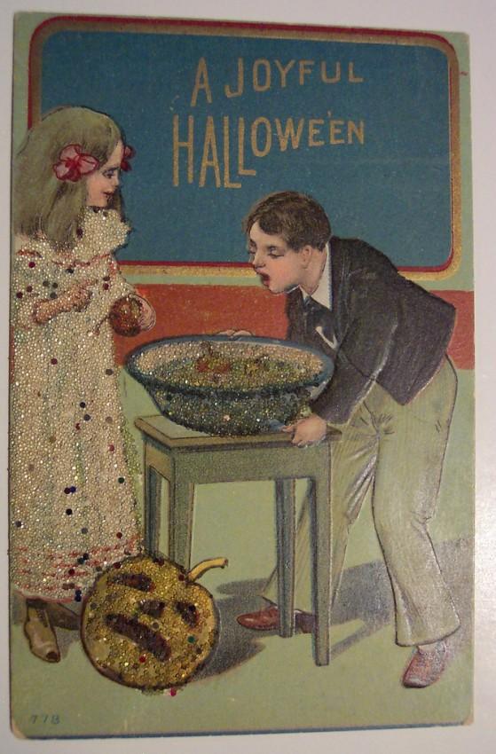 Ilustracion vintage Halloween 056