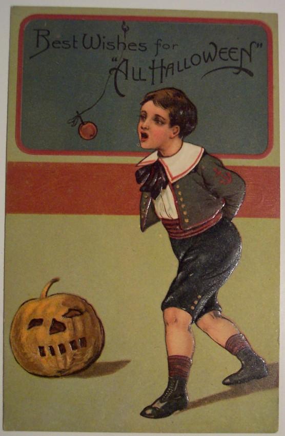Ilustracion vintage Halloween 057