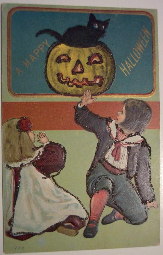 Ilustracion vintage Halloween 058