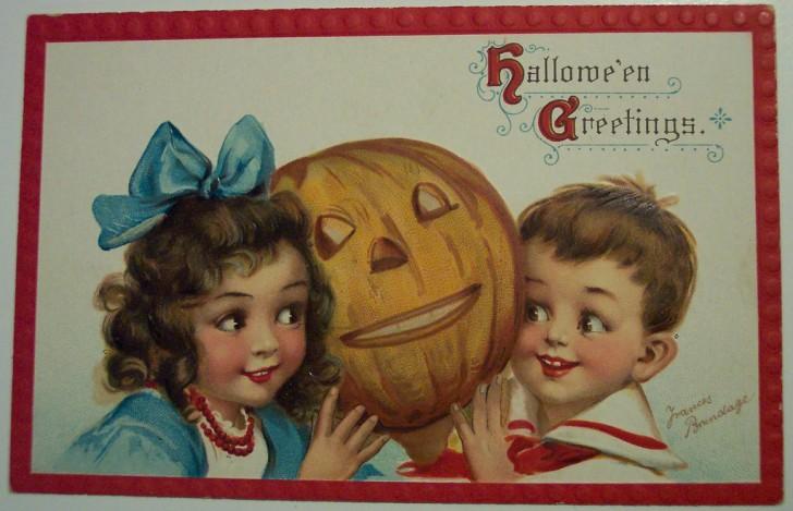 Ilustracion vintage Halloween 061