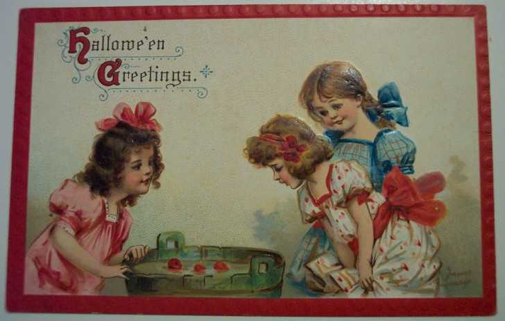 Ilustracion vintage Halloween 062