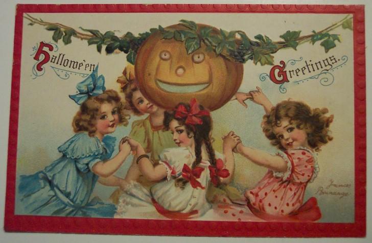 Ilustracion vintage Halloween 063