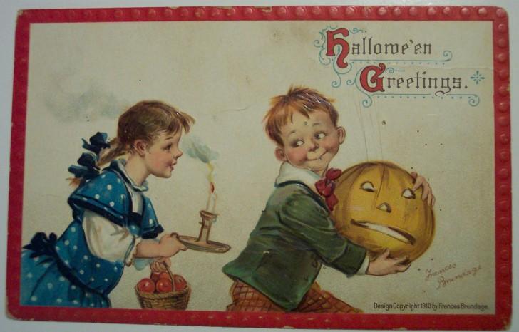 Ilustracion vintage Halloween 067