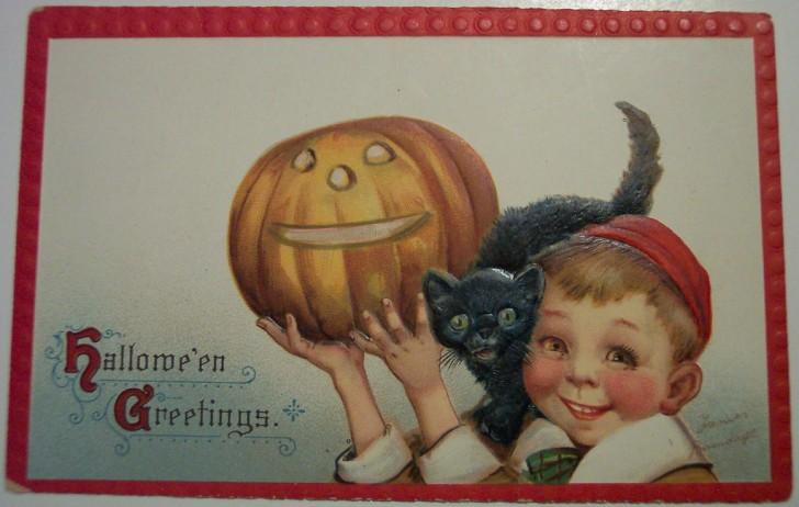Ilustracion vintage Halloween 068