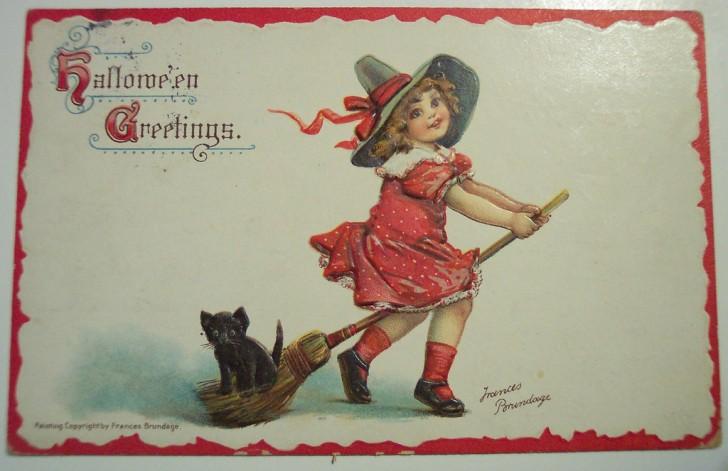 Ilustracion vintage Halloween 071