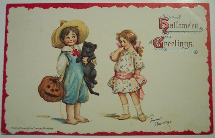 Ilustracion vintage Halloween 074