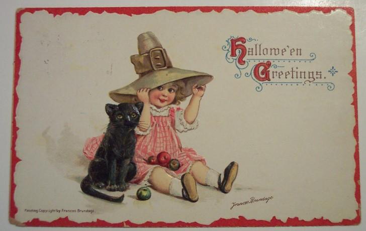 Ilustracion vintage Halloween 075