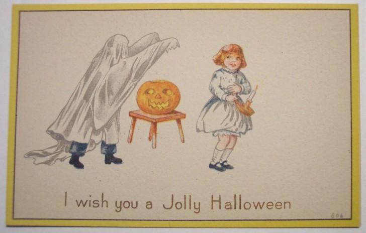Ilustracion vintage Halloween 076