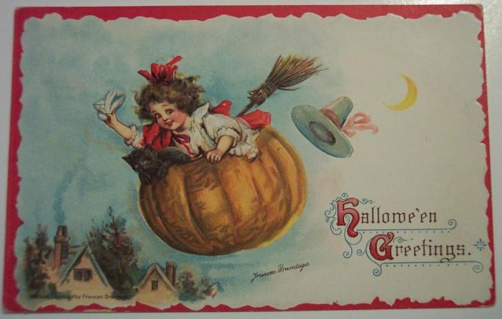 Ilustracion vintage Halloween 077