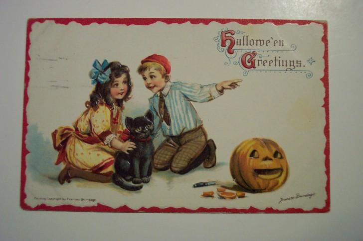 Ilustracion vintage Halloween 078