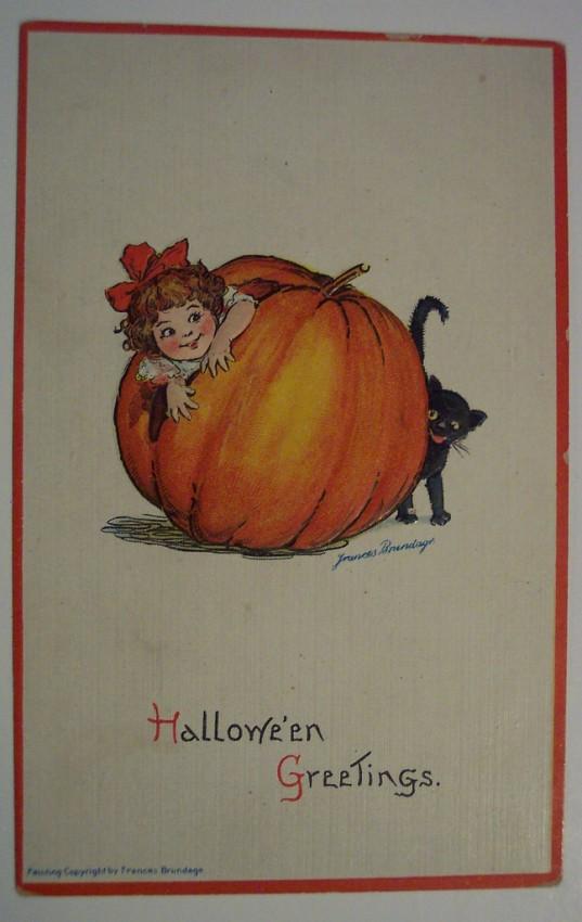 Ilustracion vintage Halloween 080