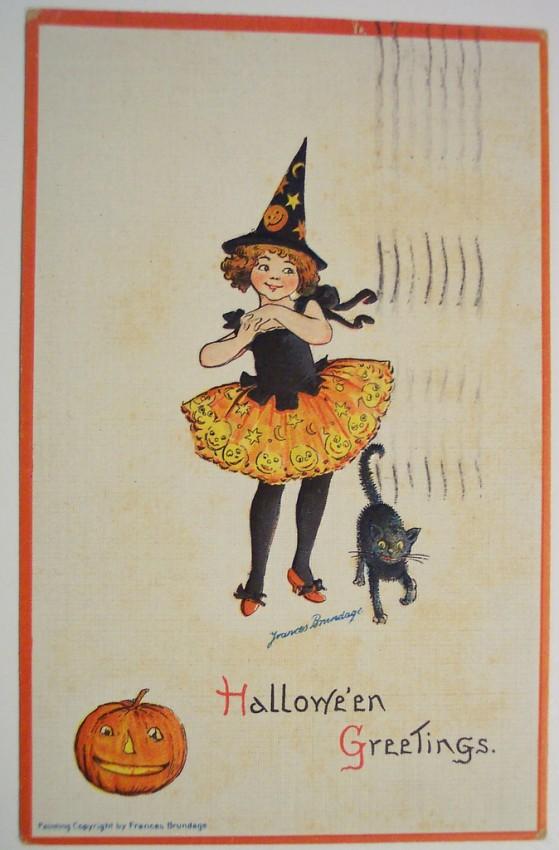 Ilustracion vintage Halloween 081