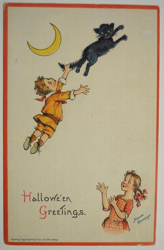 Ilustracion vintage Halloween 082
