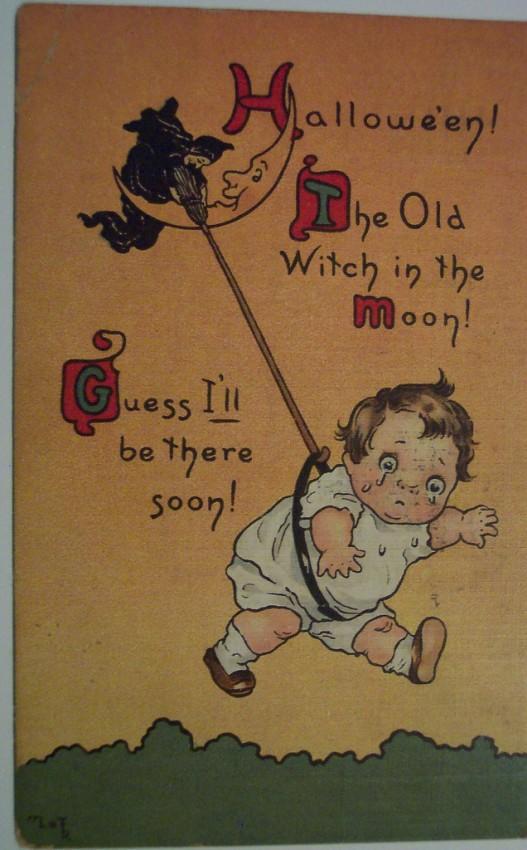 Ilustracion vintage Halloween 083