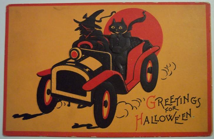 Ilustracion vintage Halloween 085