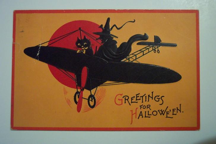 Ilustracion vintage Halloween 086