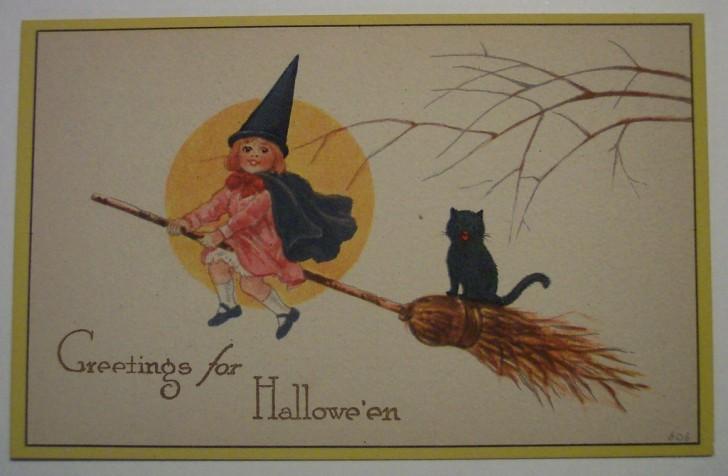 Ilustracion vintage Halloween 087