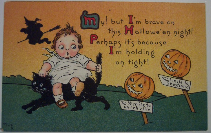 Ilustracion vintage Halloween 089