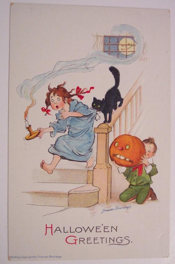 Ilustracion vintage Halloween 091