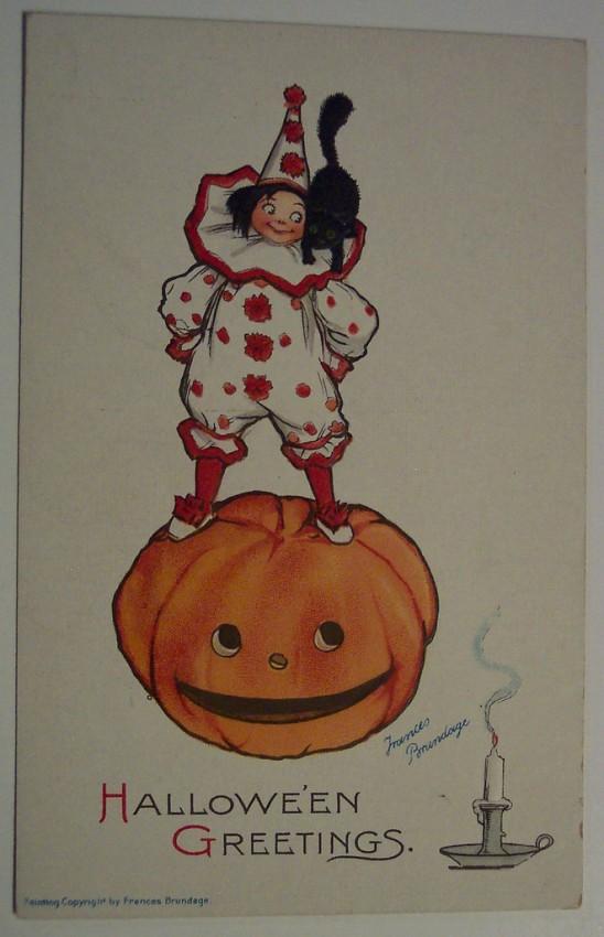 Ilustracion vintage Halloween 092