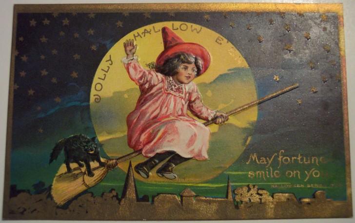 Ilustracion vintage Halloween 093