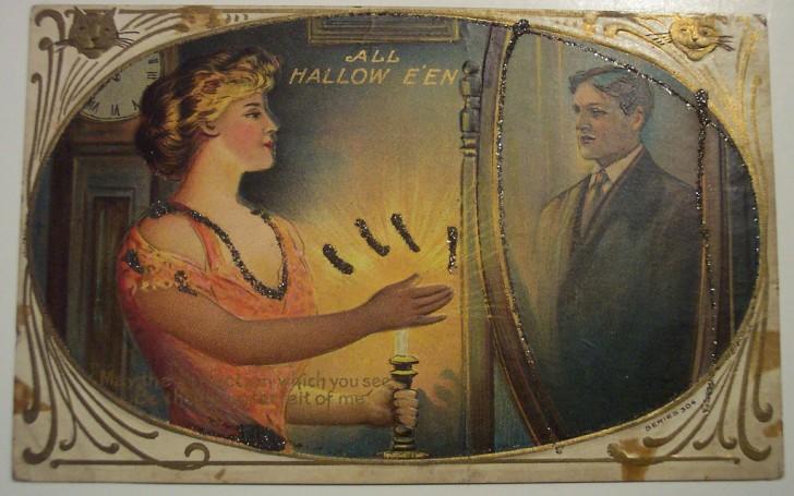 Ilustracion vintage Halloween 095