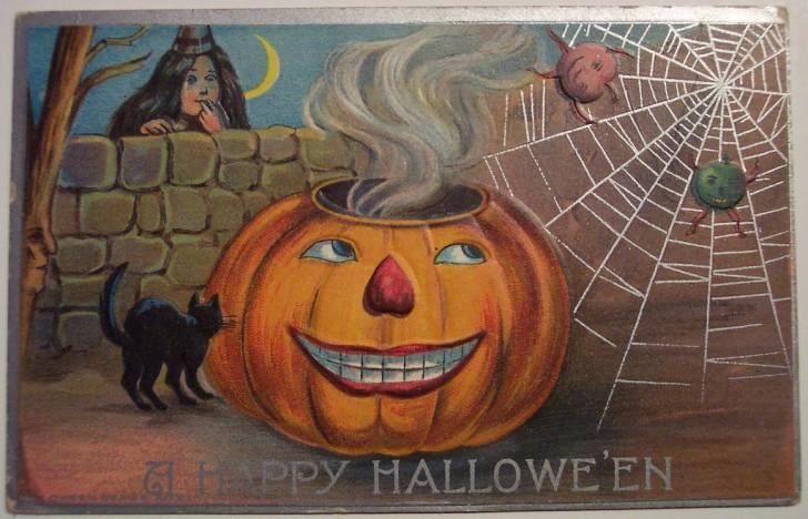 Ilustracion vintage Halloween 096