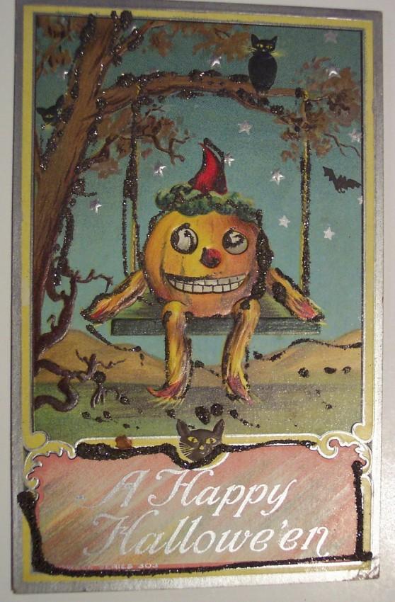 Ilustracion vintage Halloween 097