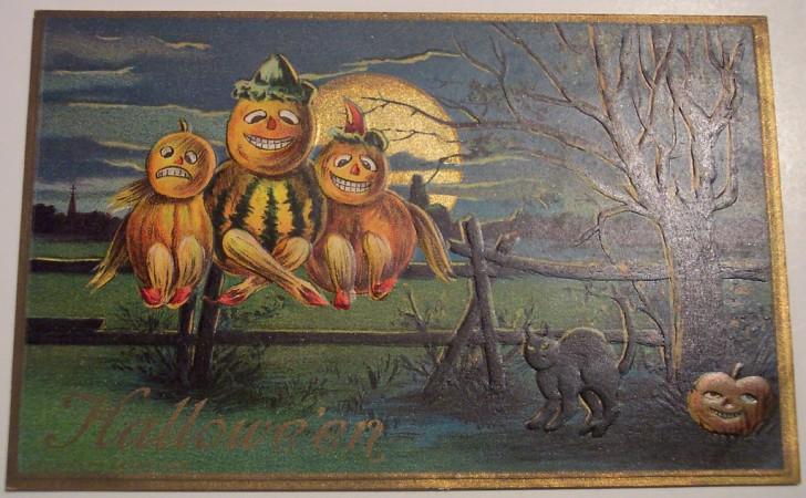 Ilustracion vintage Halloween 099