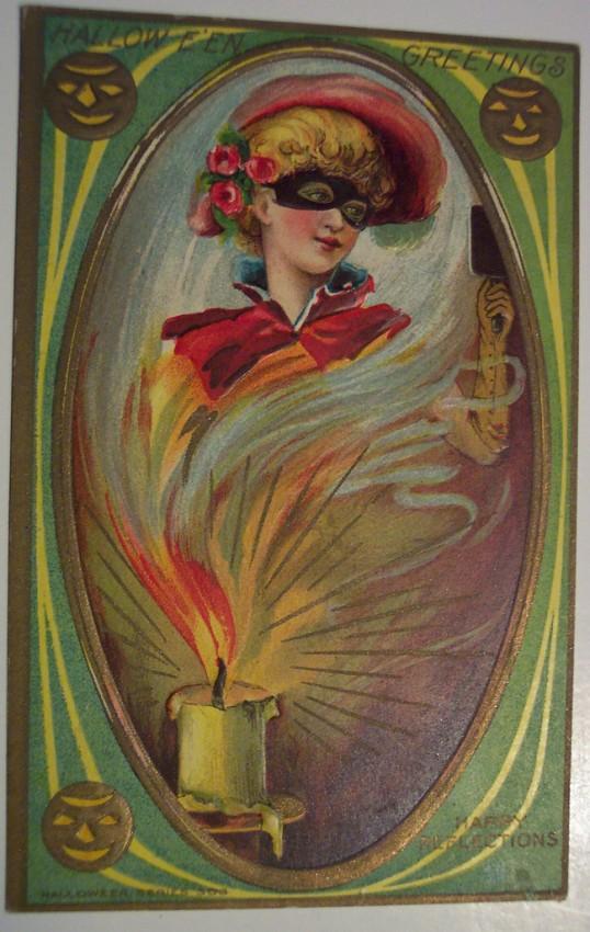 Ilustracion vintage Halloween 100