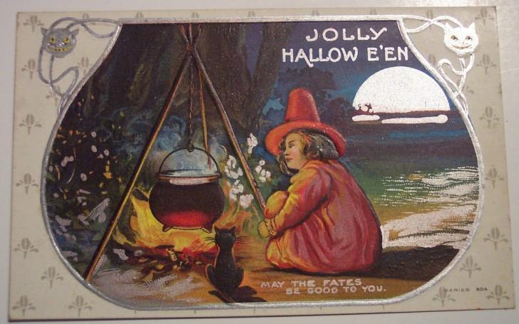Ilustracion vintage Halloween 102