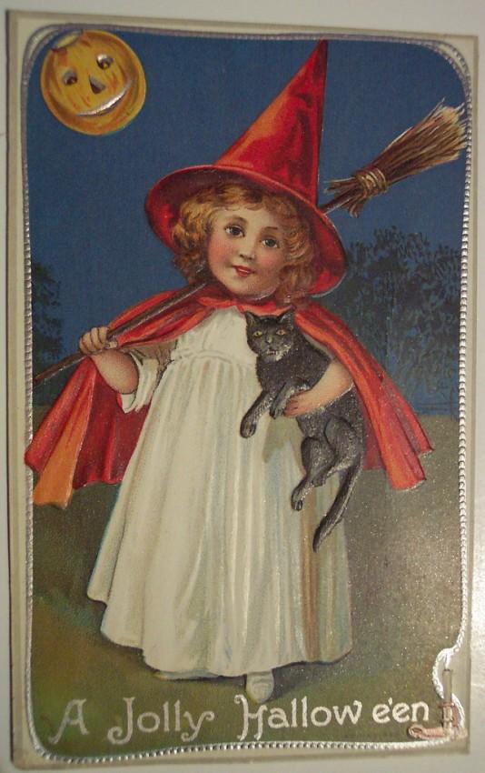 Ilustracion vintage Halloween 103