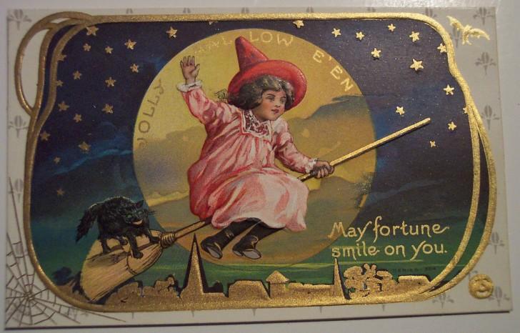 Ilustracion vintage Halloween 104