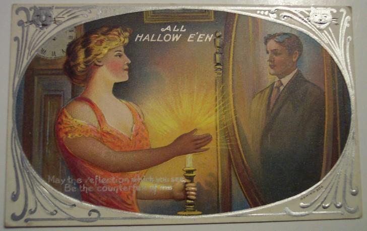 Ilustracion vintage Halloween 105