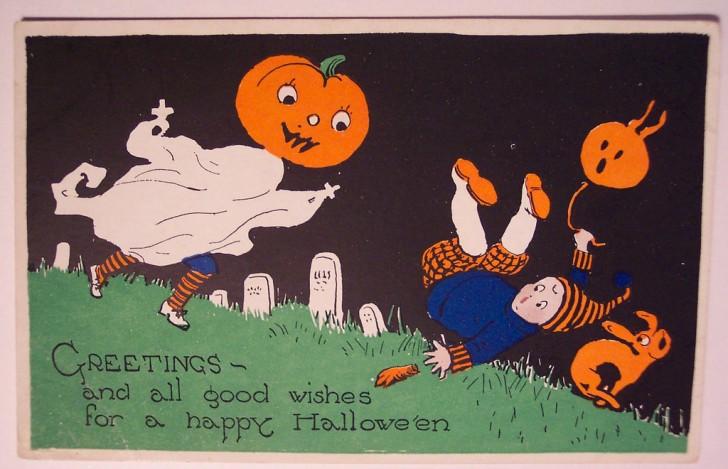 Ilustracion vintage Halloween 107
