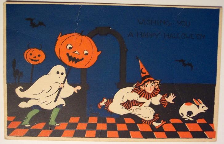 Ilustracion vintage Halloween 108