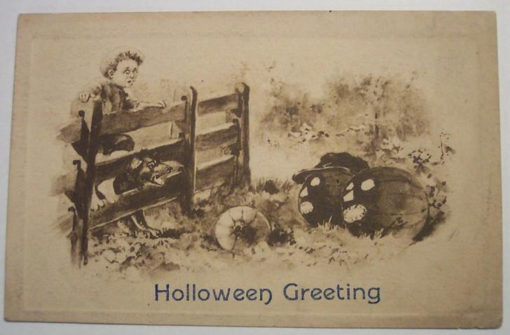 Ilustracion vintage Halloween 109