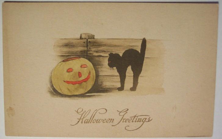 Ilustracion vintage Halloween 111