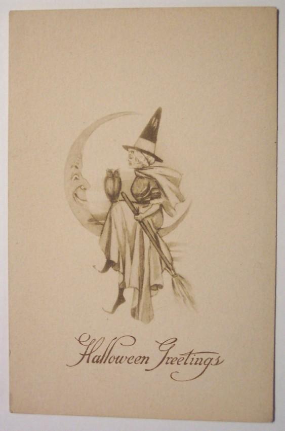 Ilustracion vintage Halloween 112